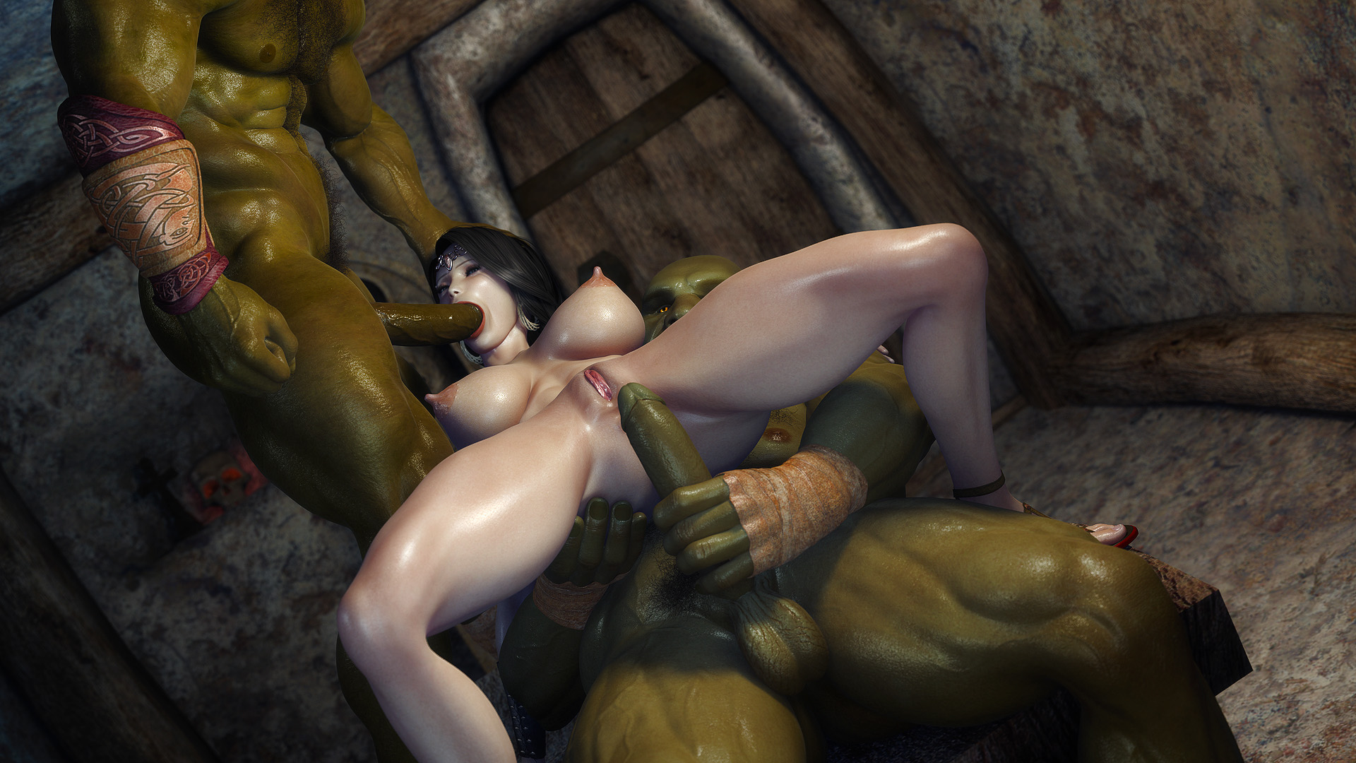 Free hentai princess elf getting fucked by  hentai movies