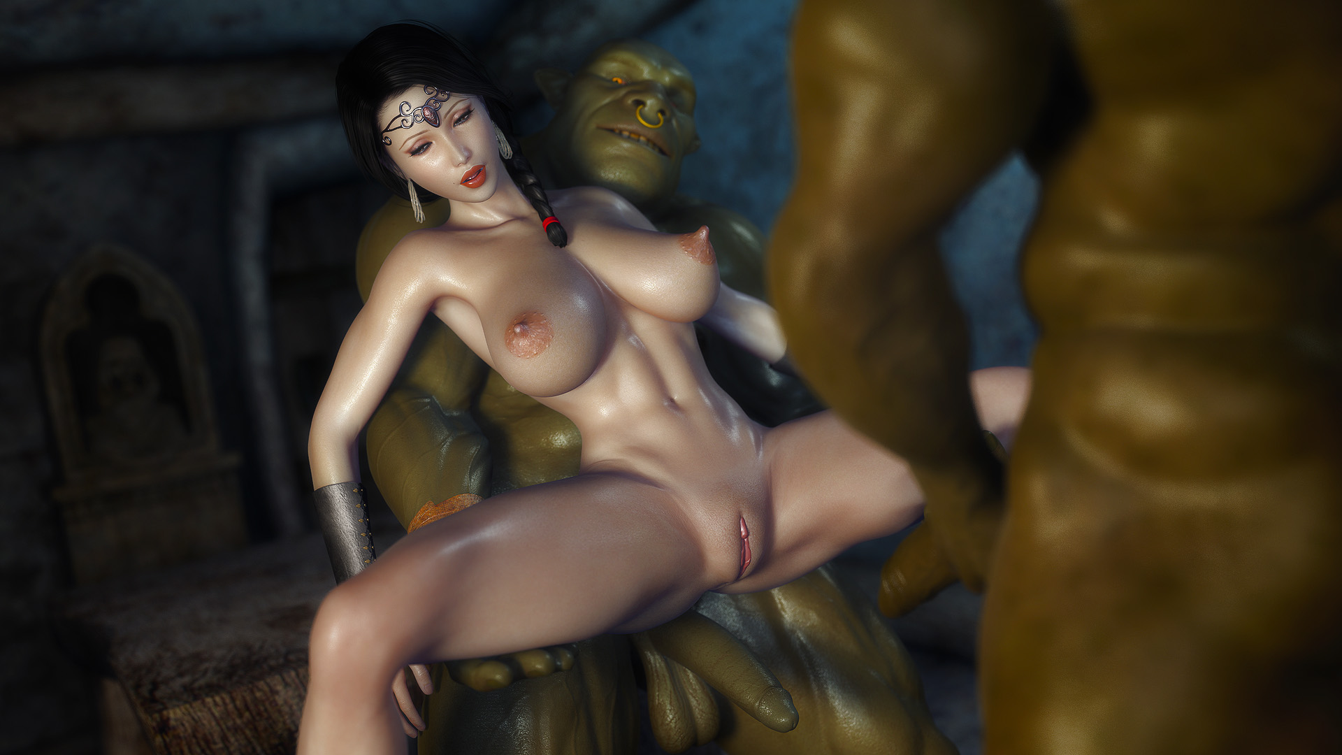 Fantasy massive orc dick fanfic exploited gallery