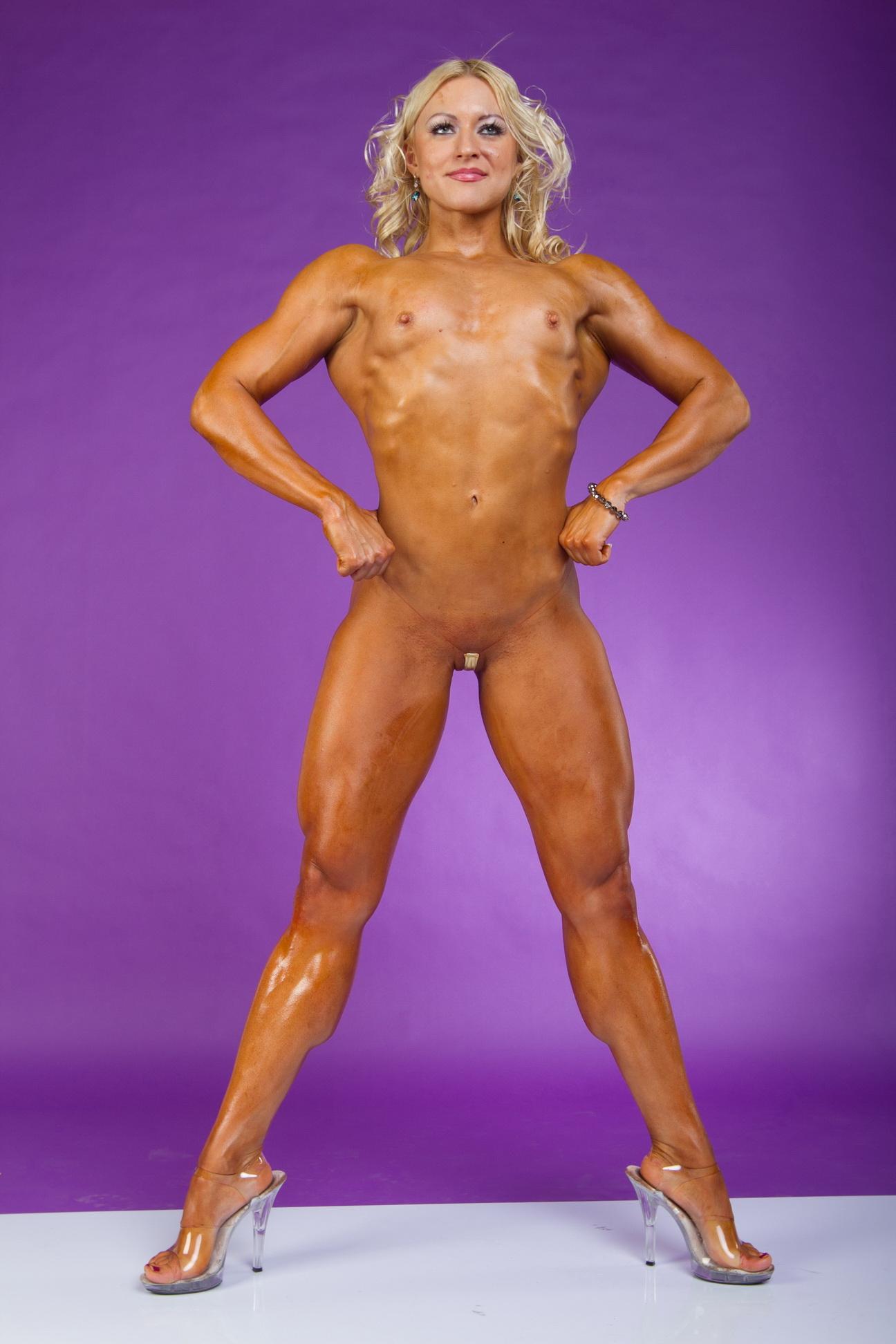 Фитнес леди голые