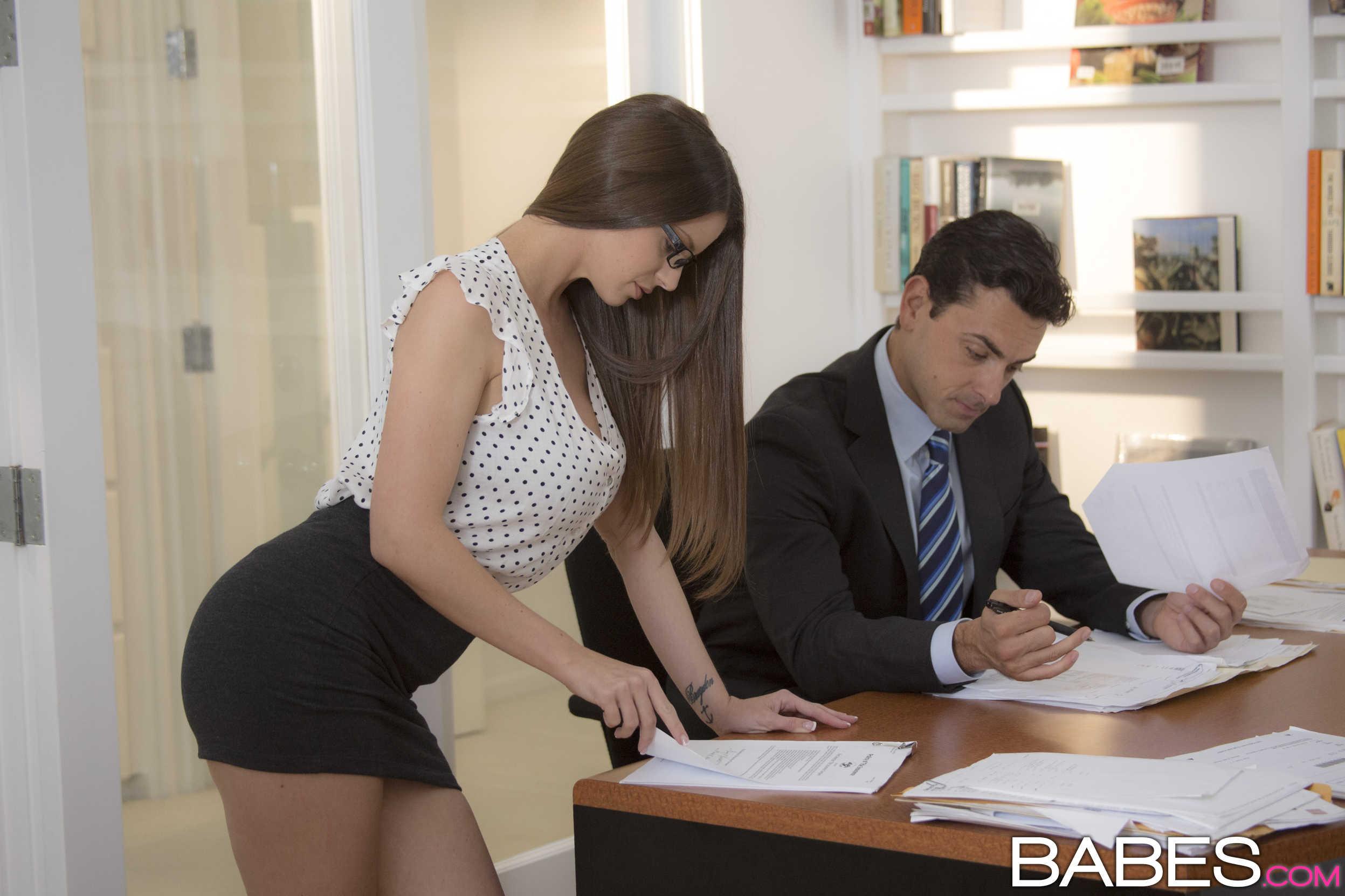 Русская секретарша в порно