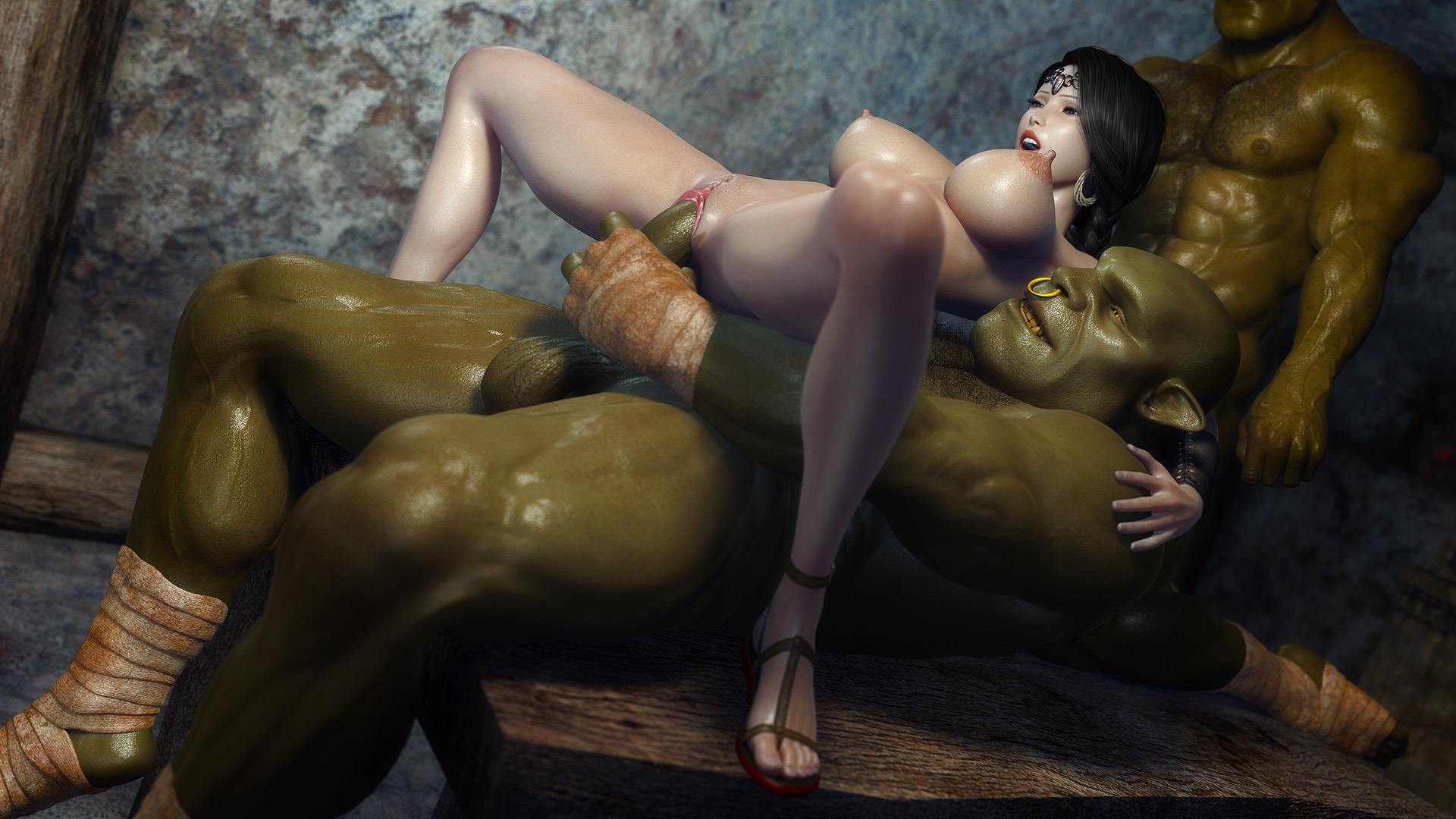 Порно мультик трахнули ельфийку фото 382-35