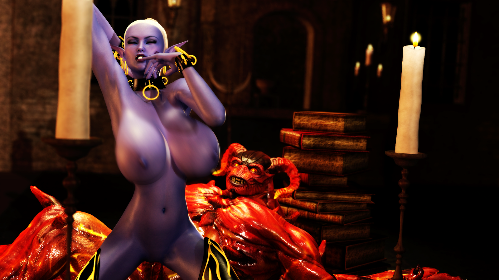 Hot dark elf xxx hentia pic