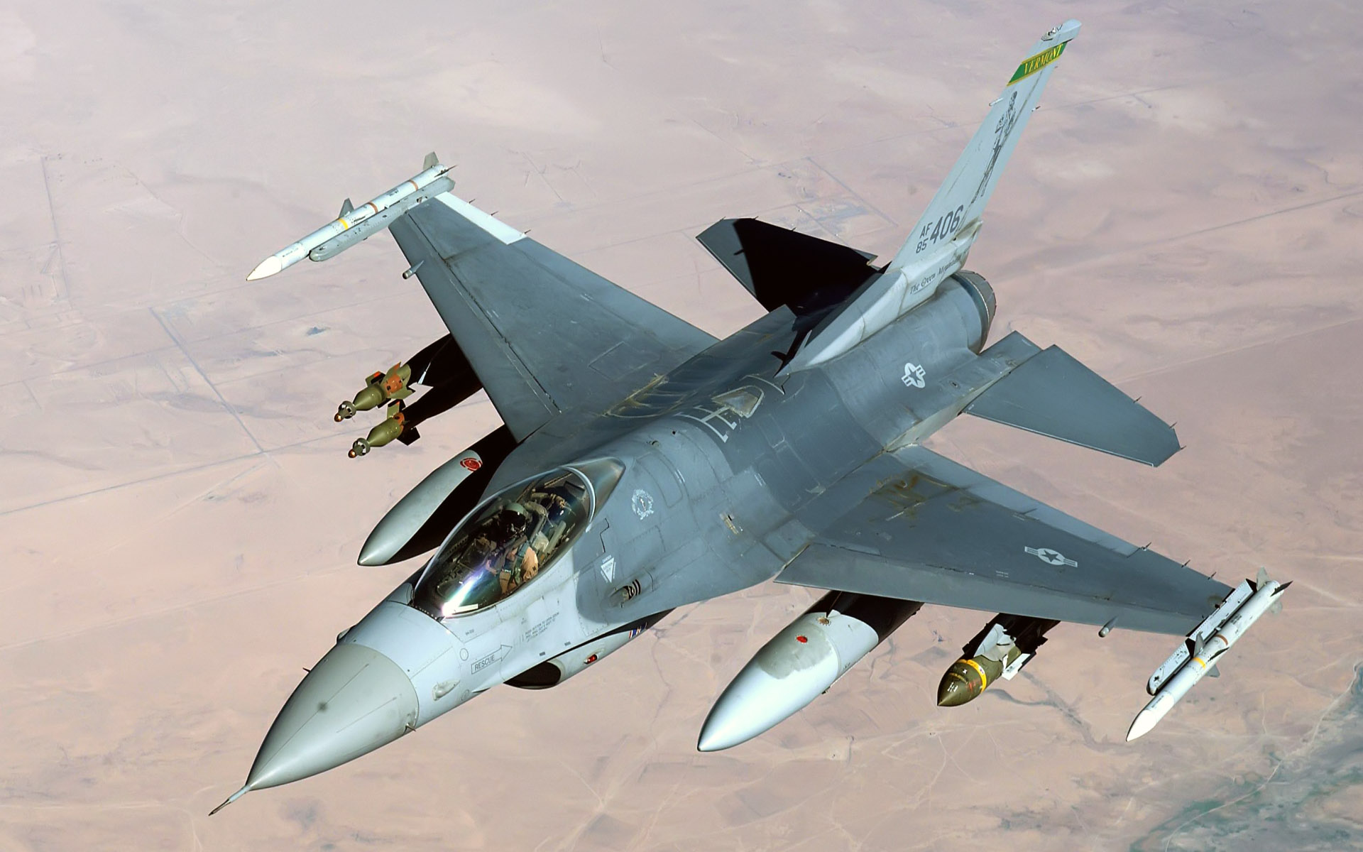f 16 fighting falcon air base iraq wide