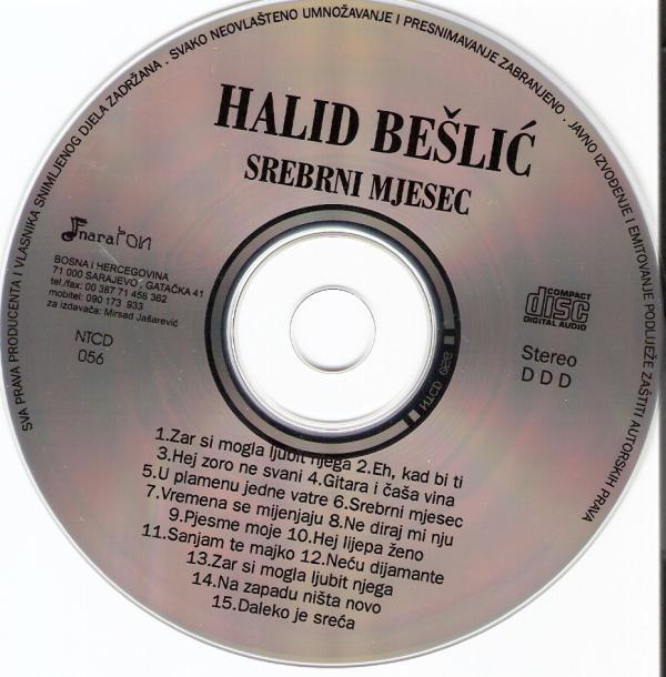 Halid Beslic 1997 Srebrni Mjesec CE DE