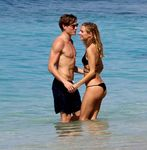Kimberley Garner @ Bikini Candids on the Beach in Barbados | January 10 | 39 pics