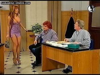 Alejandra Mora hot legs miniskirt showgirl