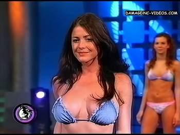 Pamela David busty bikini model