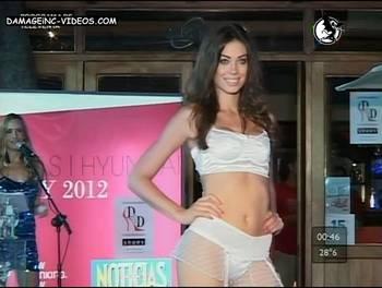Natalia Rodriguez lace lingerie