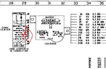 Headlight buzzer | Page 2 | GM Square Body - 1973 - 1987 GM Truck ...